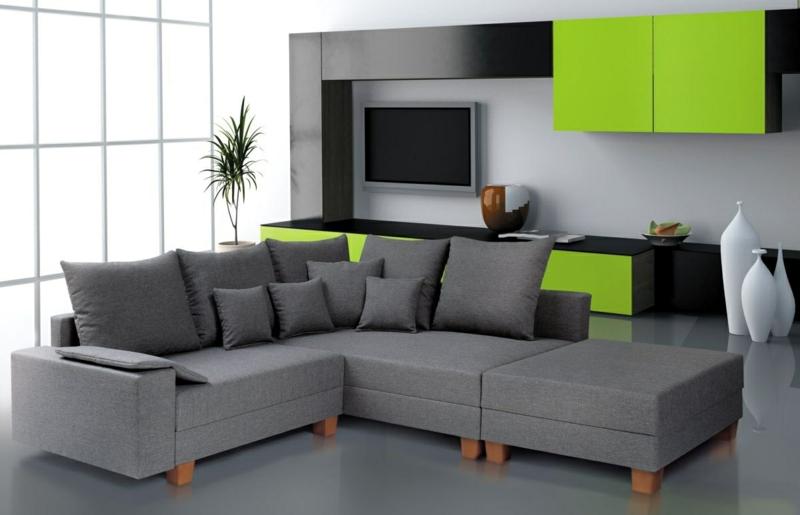 Viele Möbeldesigner Bieten Design Mit Modernem, Elegantem Look, Ohne Die  Funktionalität Zu Beeinträchtigen. Modulare Und Schnitt Ecksofas Sind  Extrem ...