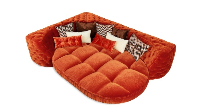 Bretz Sofa orange