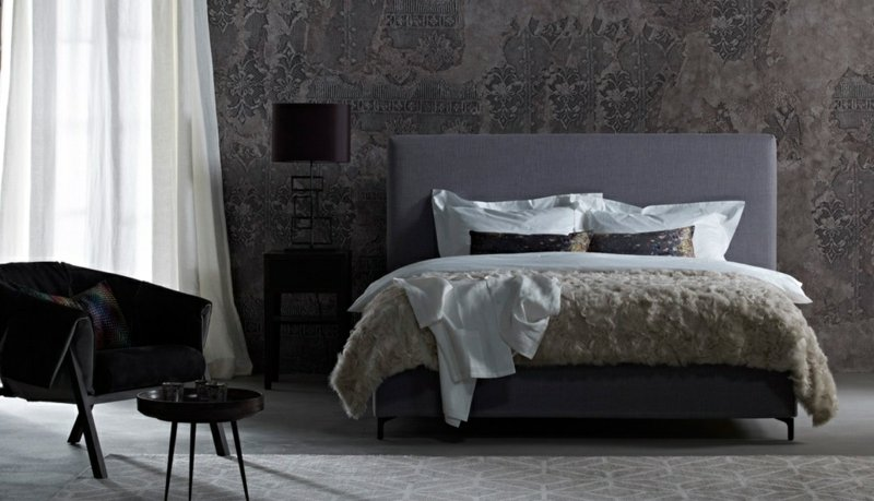 maison et objet inspirationen von schramm betten schlafzimmer zenideen. Black Bedroom Furniture Sets. Home Design Ideas