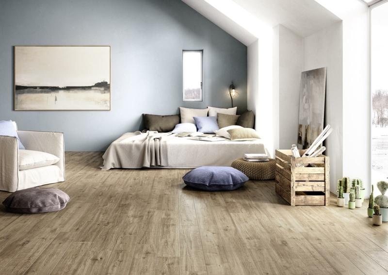 Superb Fliesen Holzoptik Schlafzimmer #12: Holzoptik Schlafzimmer Marazzi