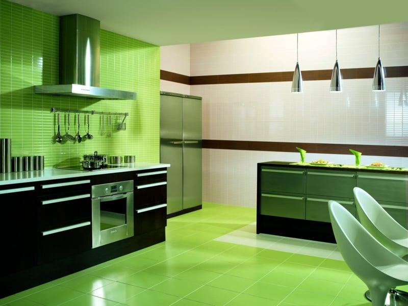 Marazzi Küchenfliesen grün