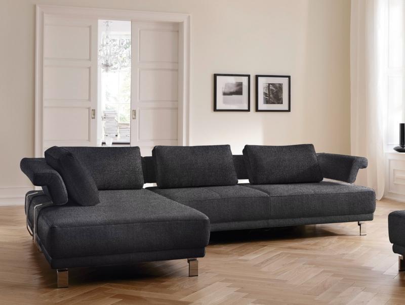 Ecksofa Zweisitzer -Sofa-Set