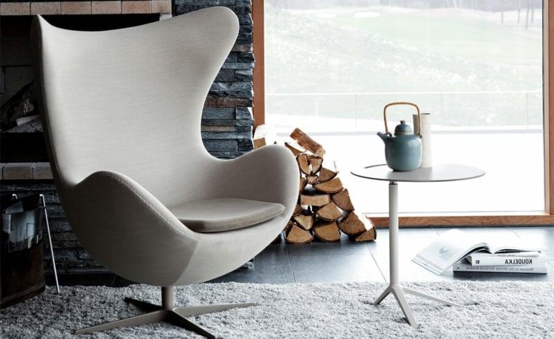 Arne Jacobsen Schwan Trendy Designer Sessel Schwan Ei Pelikan Deko