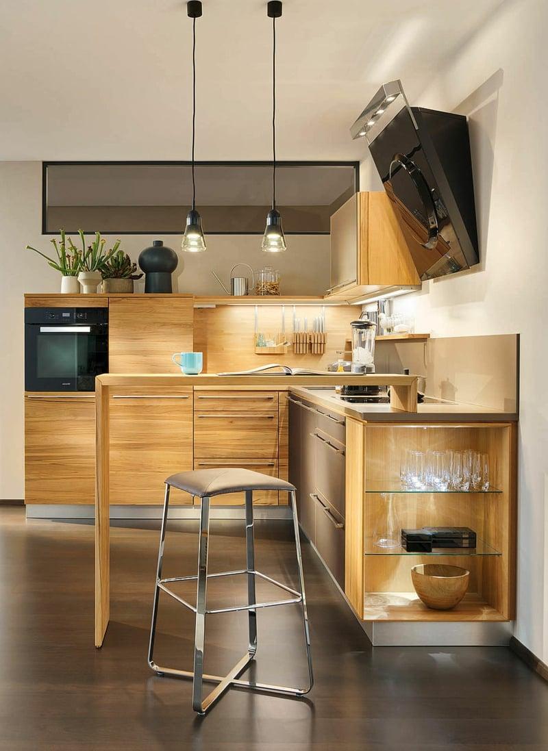 team 7 k chen die k che f r holzliebhaber deko feiern zenideen. Black Bedroom Furniture Sets. Home Design Ideas