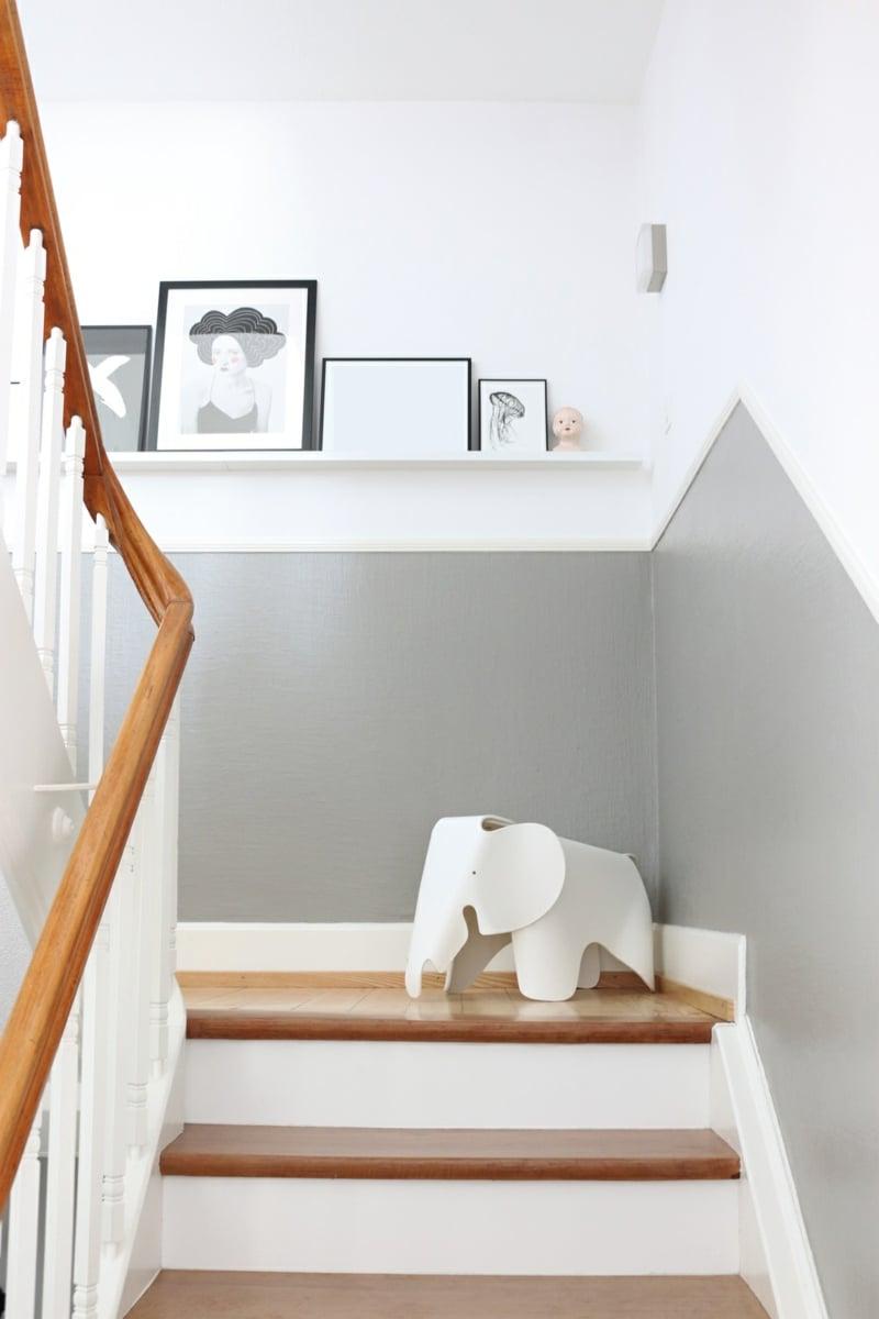 bilderleisten nichts ist kreativer als eine wand deko. Black Bedroom Furniture Sets. Home Design Ideas