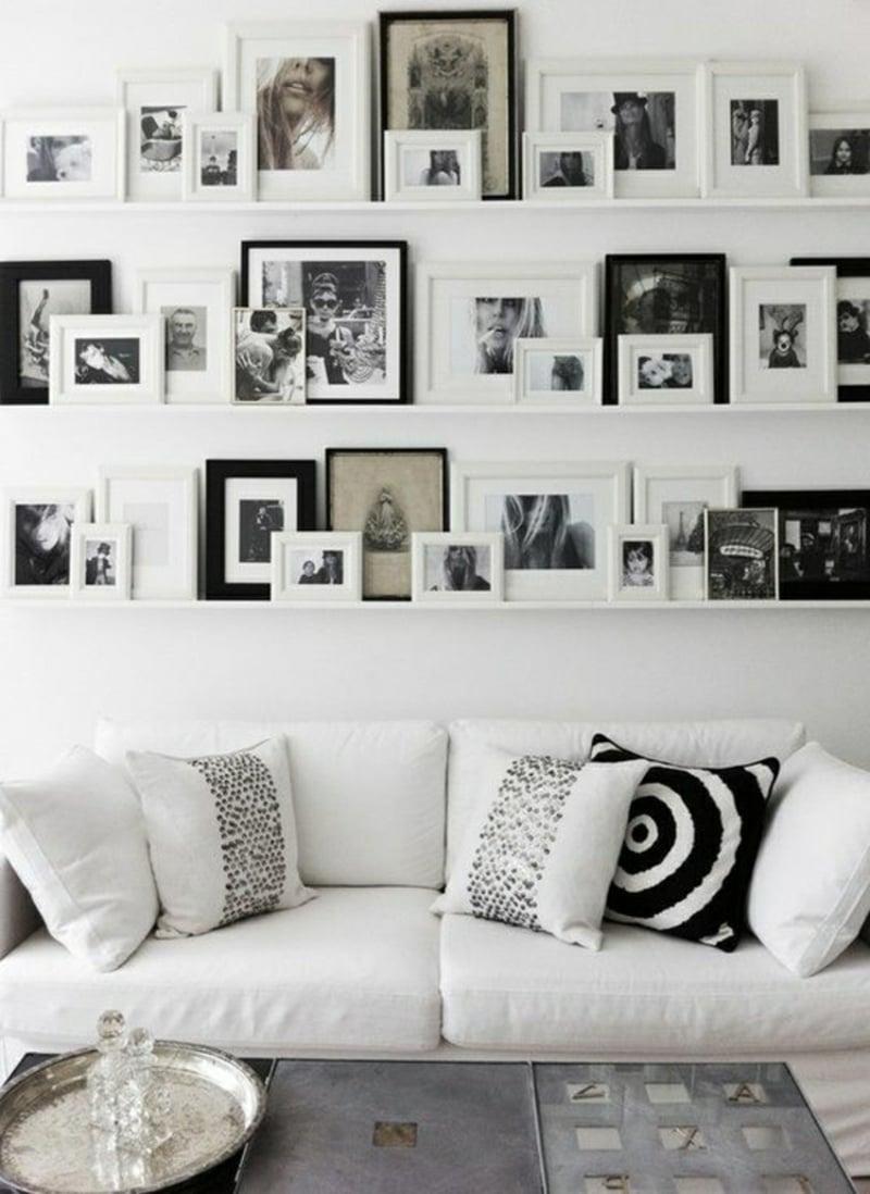 Bilderleisten nichts ist kreativer als eine wand deko for Bilderschienen ikea