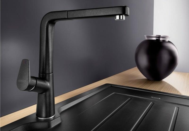 Küchenarmaturen schwarz