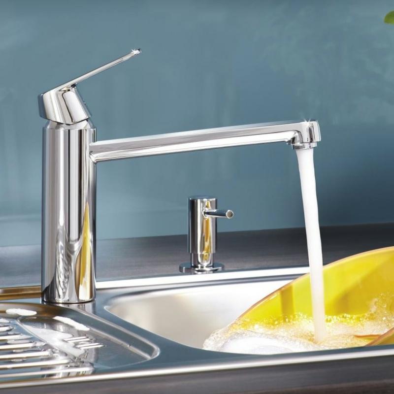 küchenarmatur-ideas-grohe-eurosmart-cosmopolitan-einhand-spueltischbatterie