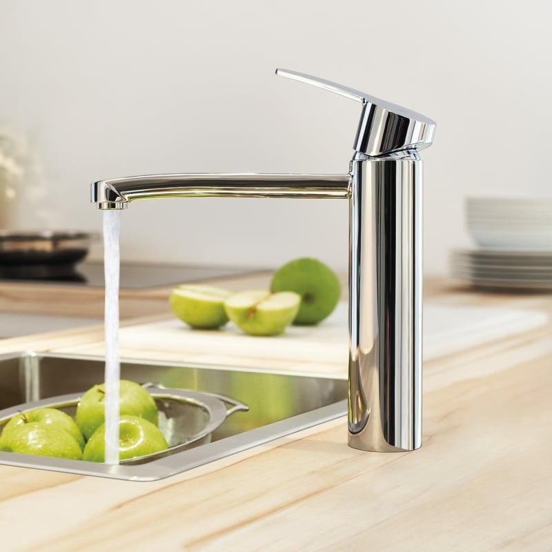 küchenarmatur-ideas-grohe-eurostyle-cosmopolitan-einhand-spueltischbatterie-mittelhoher-auslauf
