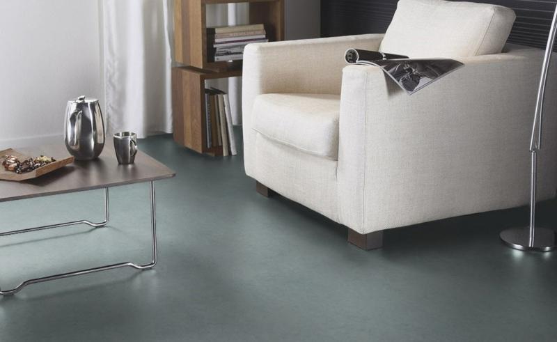 Linoleumboden es ist gr n und wundersch n bodenbel ge - Bodenbelage wohnzimmer ...