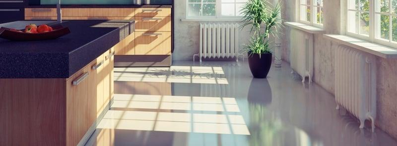linoleumboden in der küche