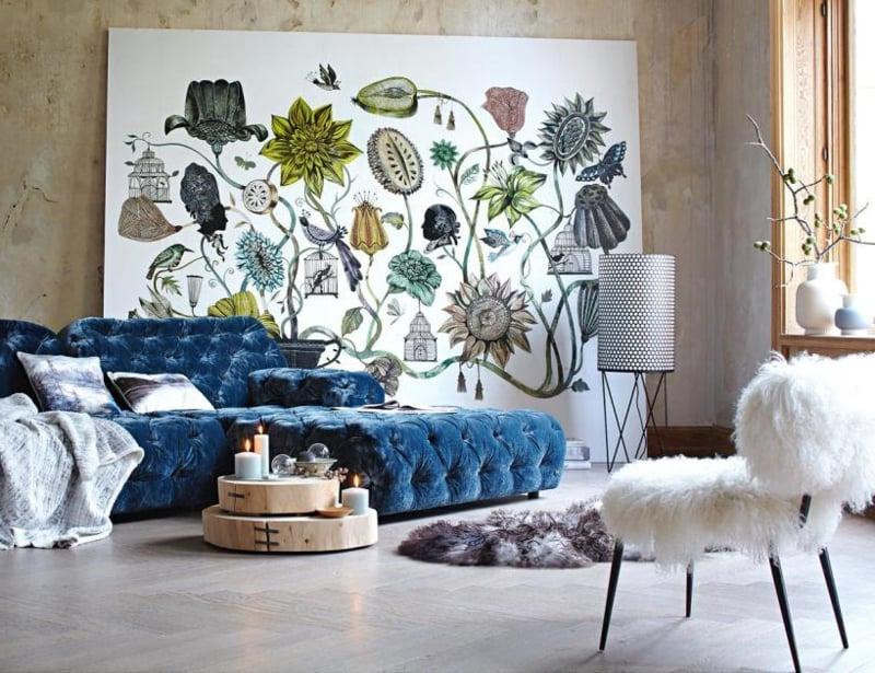 bretz sofa blau wohnzimmerbretz sofa blau