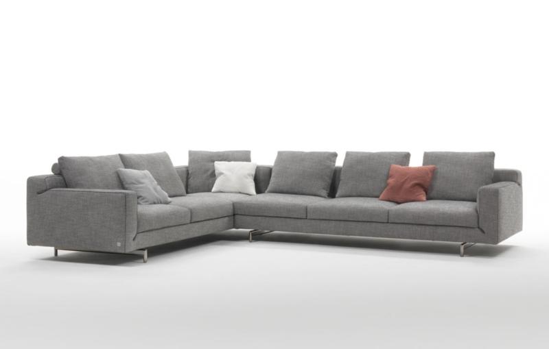 Niedriges Sofa ecksofa ideen ein heißer trend für ein wohnzimmer deko feiern zenideen