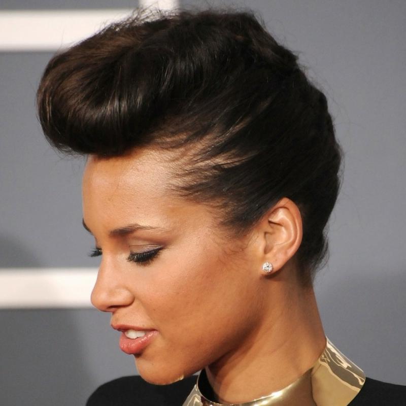 Frisur für kurze Haare