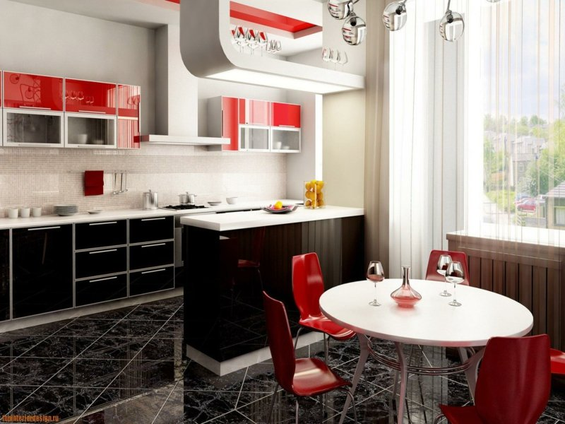 Inneneinrichtung-küche-rot-resized