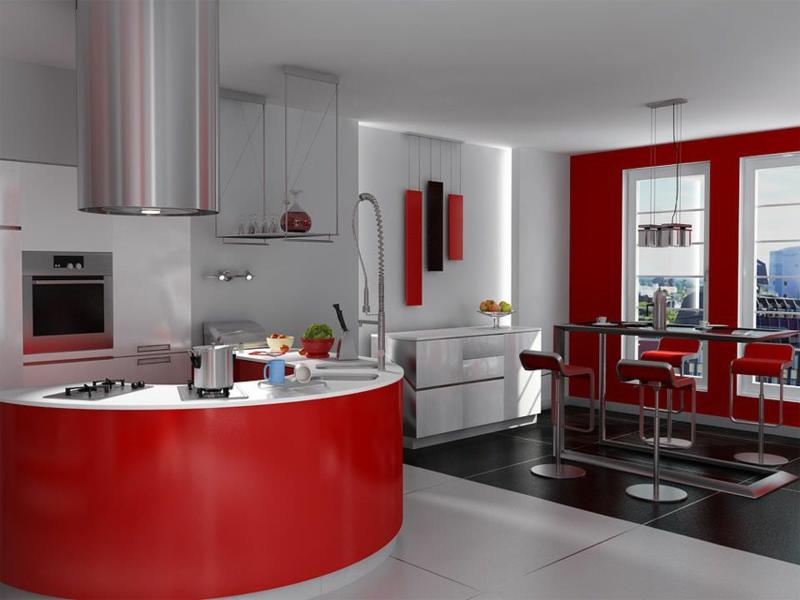 Inneneinrichtung-rot-esszimmer-küche-resized