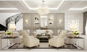 klassisches Wohnzimmer Raumgestaltung