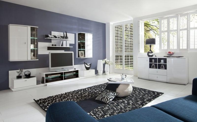 Interieur eines modernen wohnzimmer