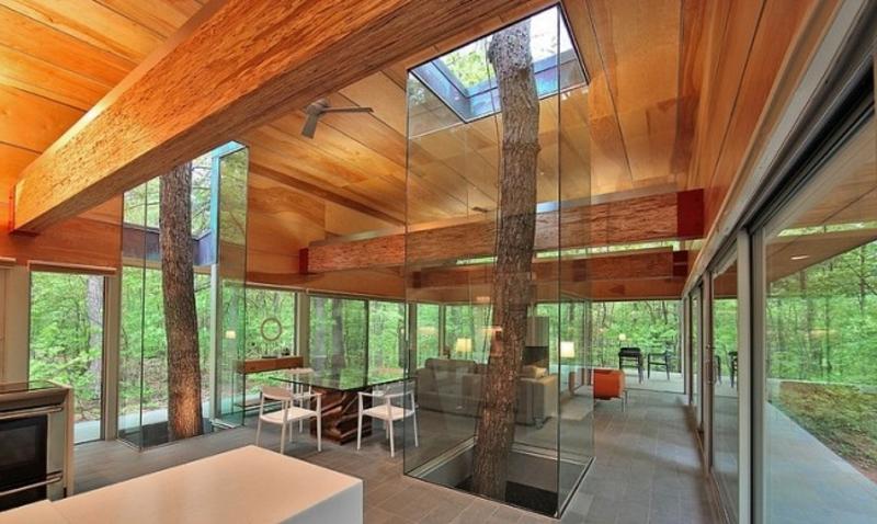 Einklang mit der Natur Wohnzimmergestaltung
