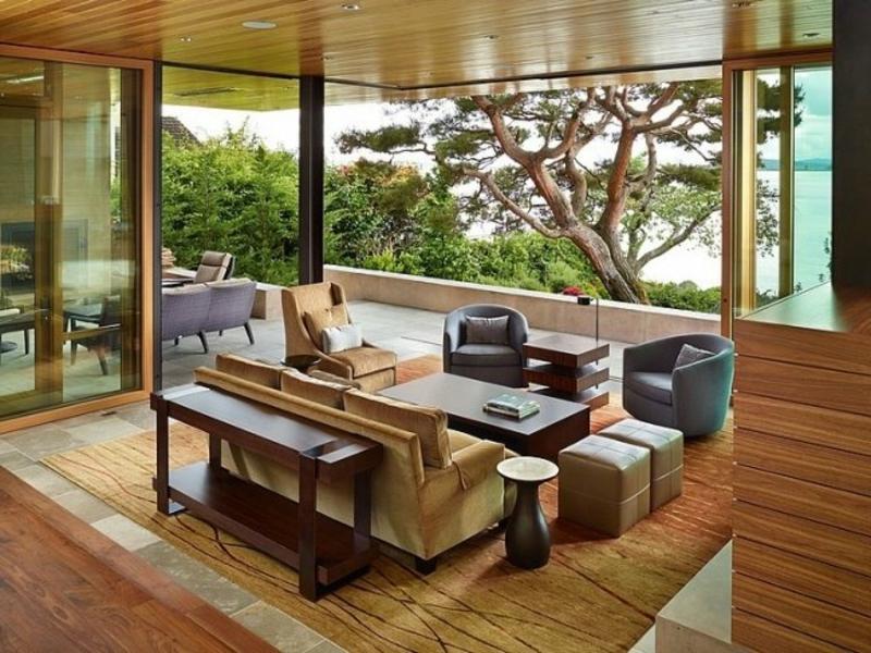 natürliche Farben Wohnzimmergestaltung