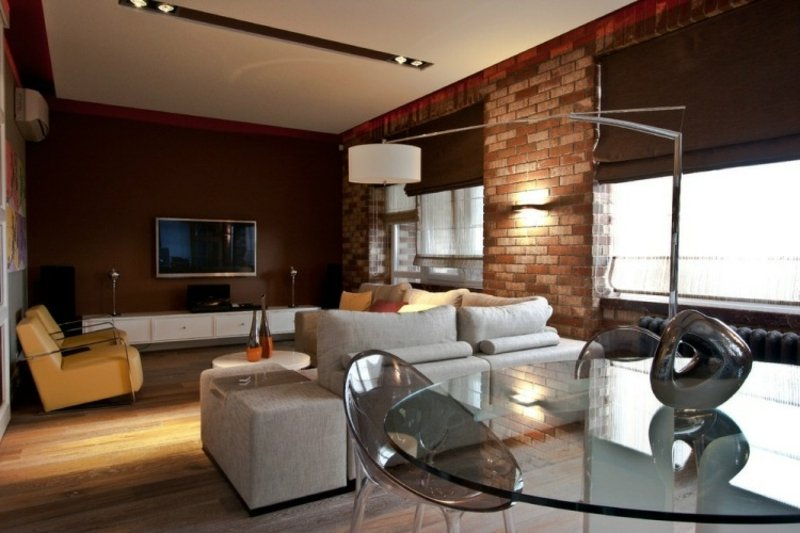 Wohnzimmer mit vielen Funktionen