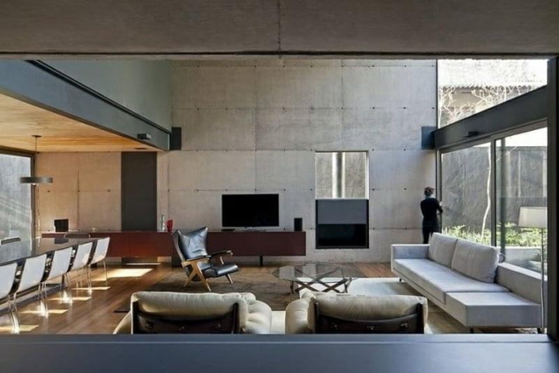 emejing wohnzimmer design holz pictures house design. Black Bedroom Furniture Sets. Home Design Ideas