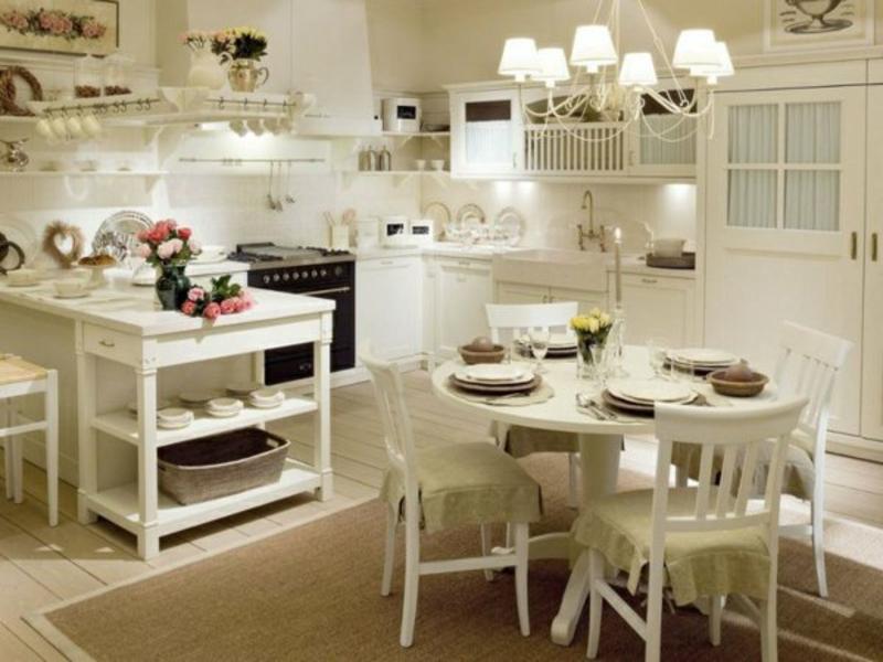 altschtil beleuchtung wohnideen in der provence küche