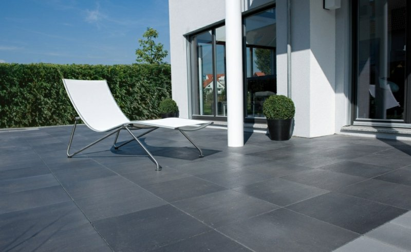 betonfliesen terrasse