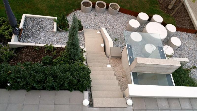 betonfliesen klassisches Bodenmaterial