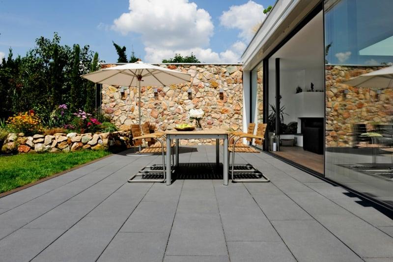 betonfliesen traditionell