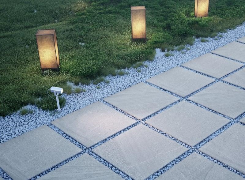 betonfliesen fein aussehend