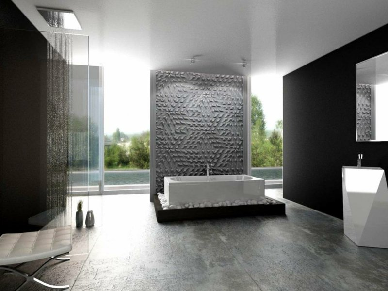 betonfliesen praktisch und modern bodenbel ge fliesen zenideen. Black Bedroom Furniture Sets. Home Design Ideas
