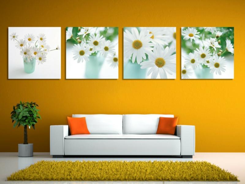 designer bilder mit pflanzenakzenten