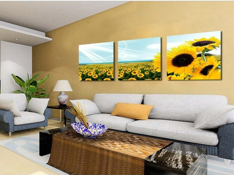 ein bild mit sonnenblumen bringt optimismus
