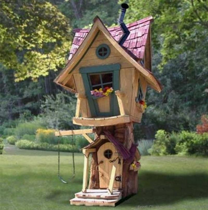 originelles und modernes Gartenhaus