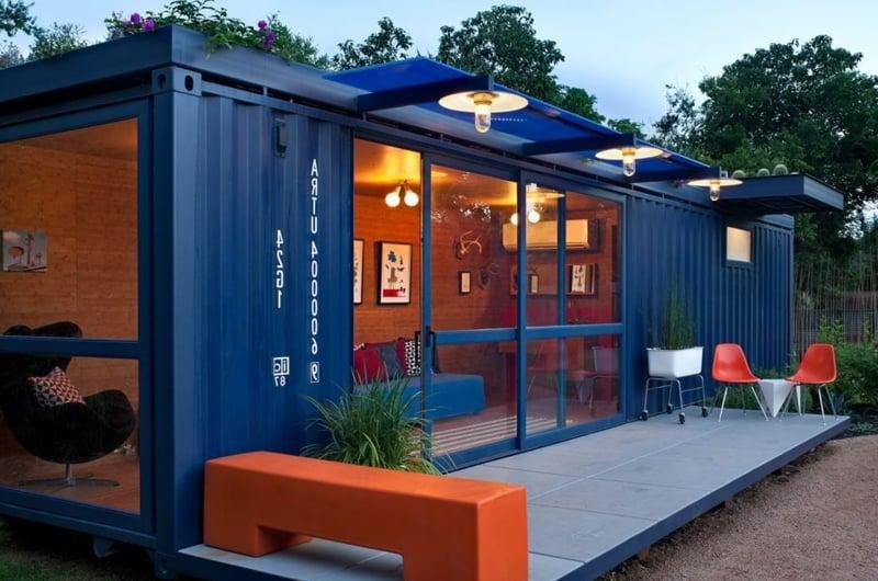 containerhaus Gasthaus aussen