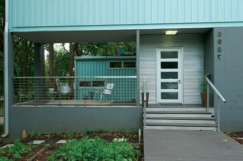 containerhaus Modernes Architektenhaus
