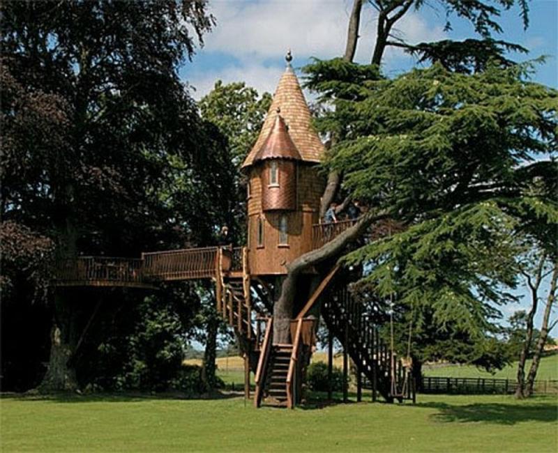 märchenhaftes Gartenhaus