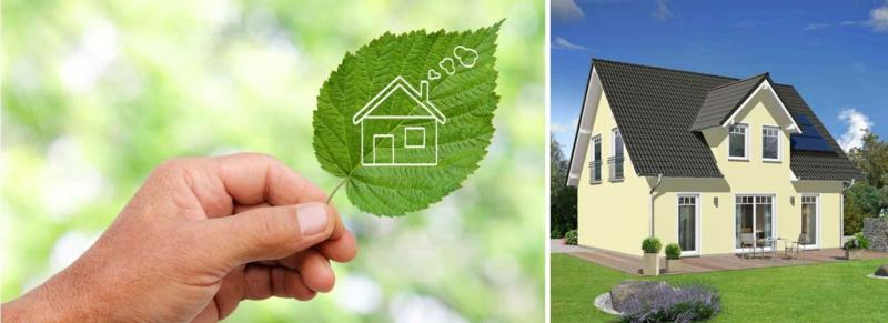 umweltschonendes Passivhaus
