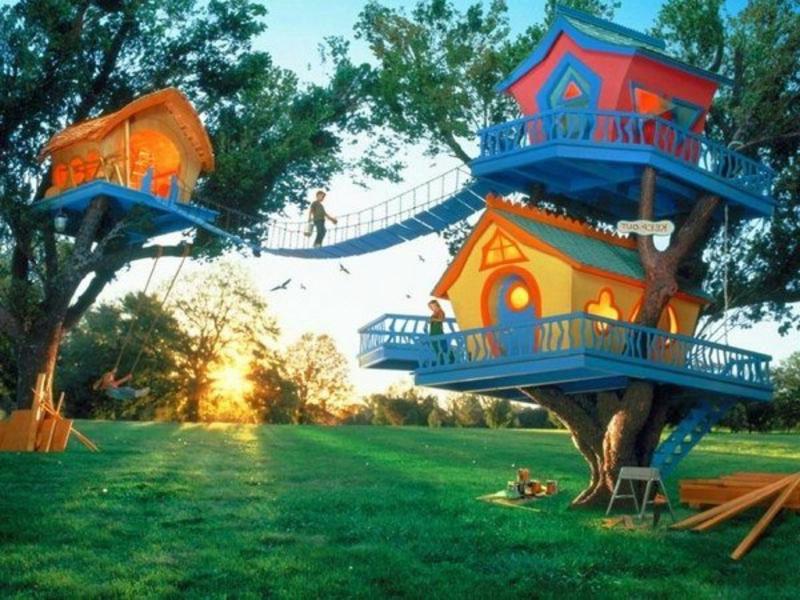 moderne Gartenhäuser wie in den Kindheitsträumen