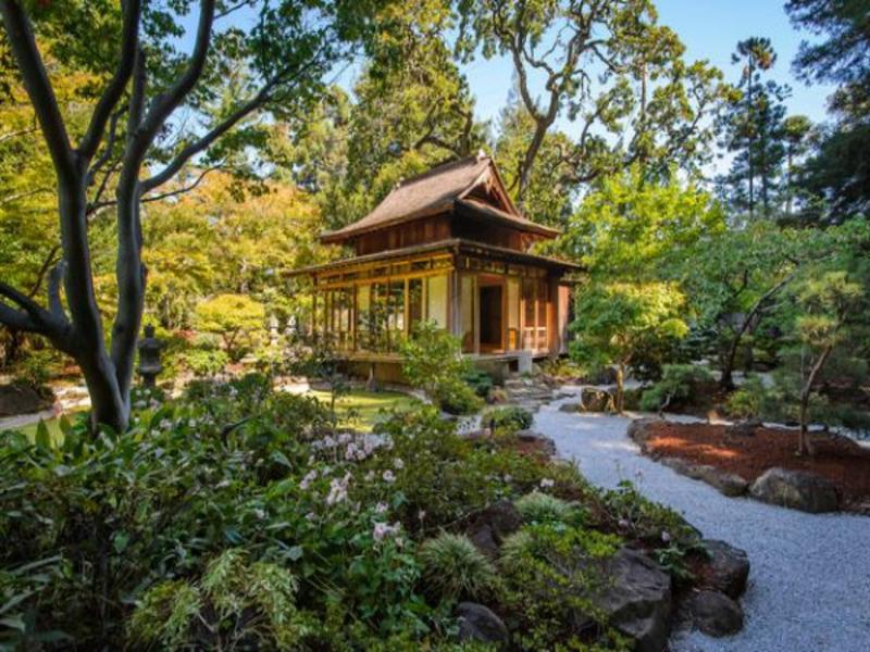 Eklektik im japanischen Garten