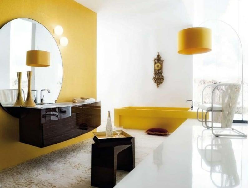 erholung in gelb