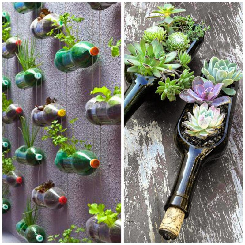 Umweltfreundliche gartendekoration diy garten zenideen for Blumentopfe basteln
