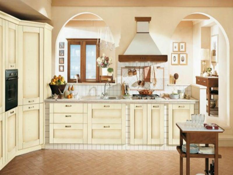 Coole Dekoration Franzoesische Kueche Gelbe Waende   Design