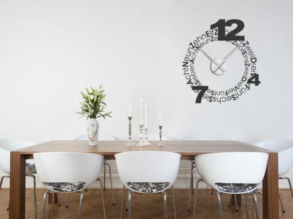Jede Küche muss so eine Wanduhr besitzen