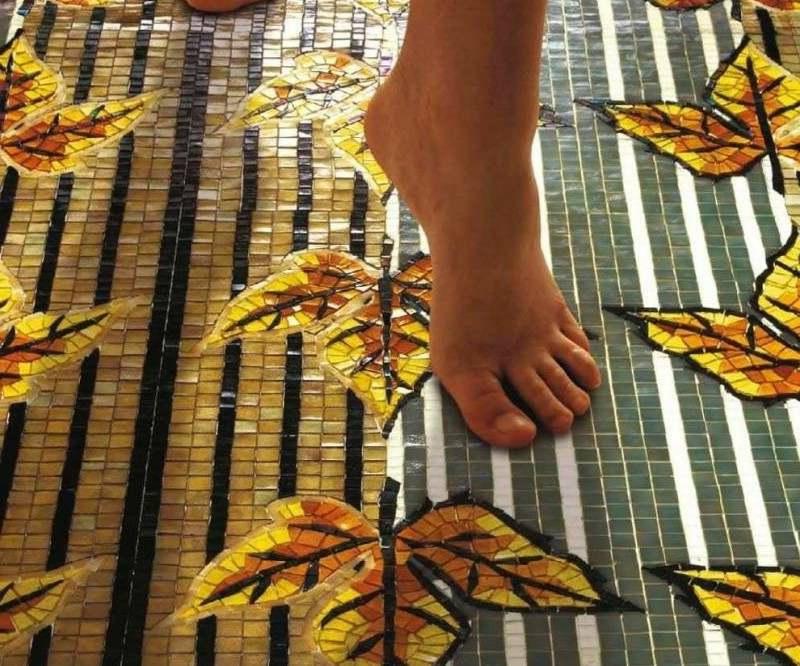 glasmosaik Musterbodenfliesen