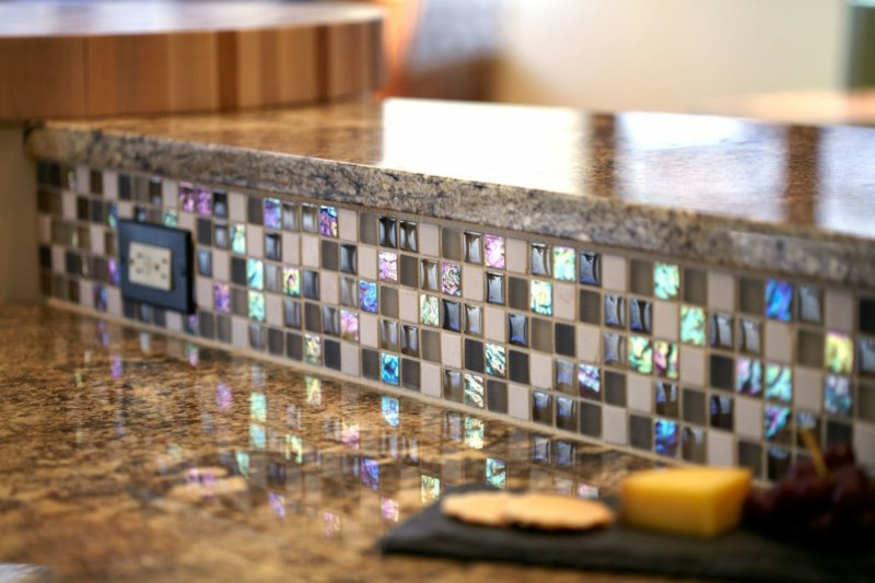 interiorideen aus glasmosaik