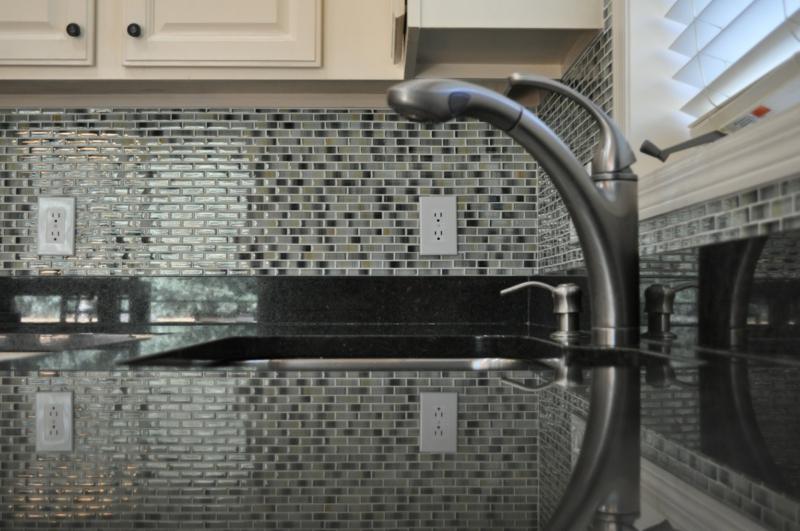 glasmosaik Gestaltungsmöglichkeit für die Küche