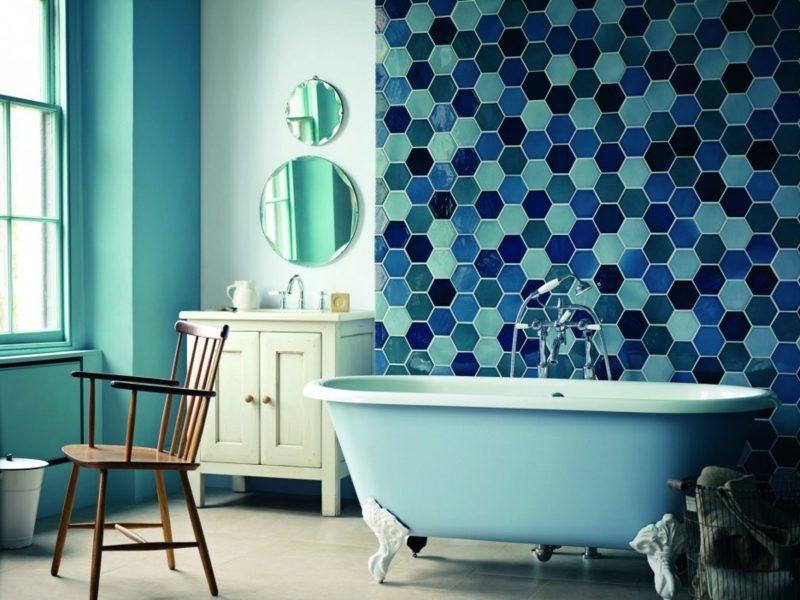 glasmosaik f r ein edles look badezimmer bodenbel ge fliesen zenideen. Black Bedroom Furniture Sets. Home Design Ideas