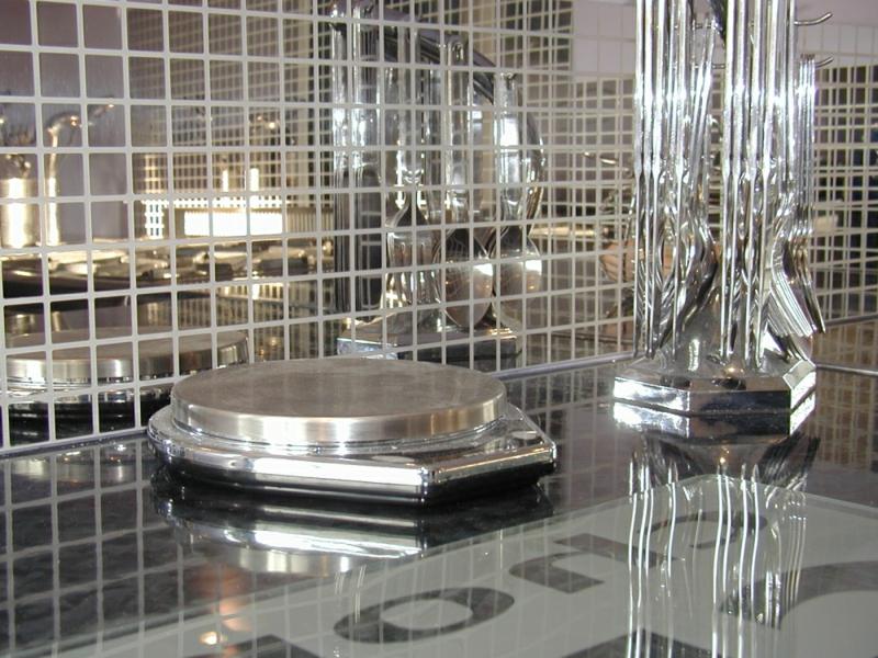 verspiegelte glassteine glasmosaik